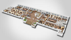 1 - Office_Space_3D_Floor Plan
