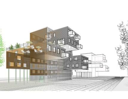 3D Exterior Rendering for Commercial Properties