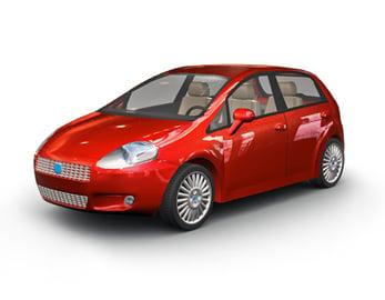 3D Product Render - Automotive 3D Car Render example 3