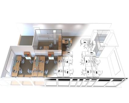 Commercial 3D Floor Plans - Services