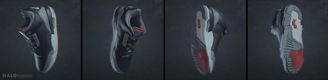 Nike Air Jordans Animation Frames