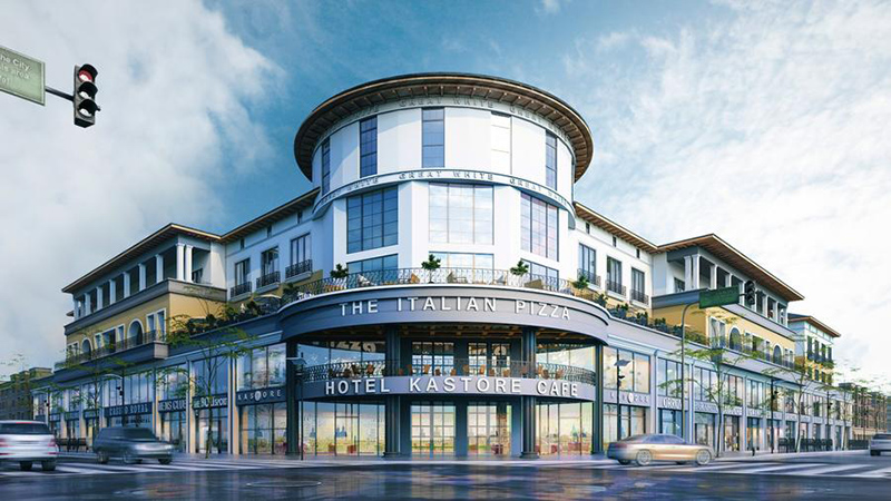 3D Commercial Exterior Rendering Services - Buildings Hotels Schools