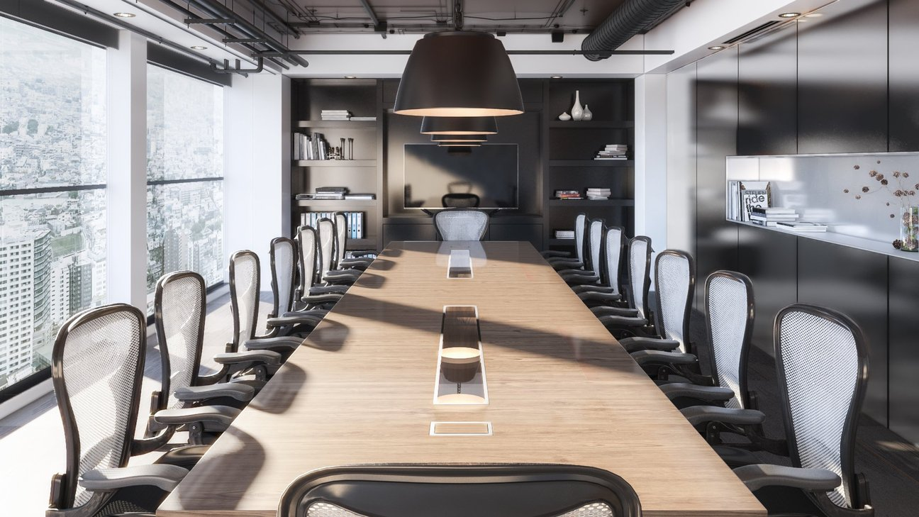 Commercial 3D Rendering - Hotel Conference Room