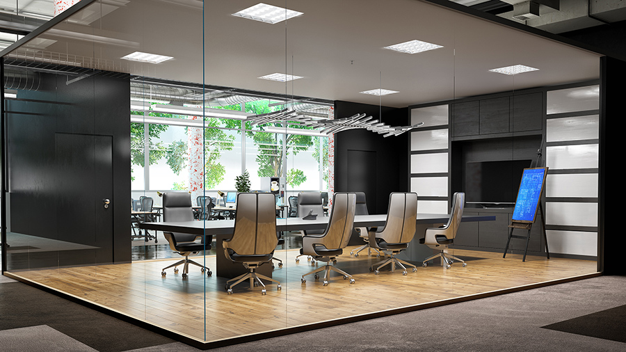 Commercial Real Estate - Interior Office Space - White Label 3D Rendering Services