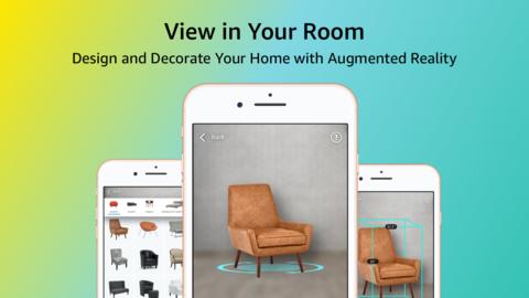 Amazon's View Your Room Screenshot