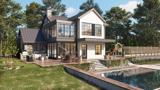 Residential Real Estate - Exterior 3D Renderings